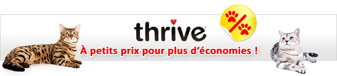 Friandises Thrive pour chat