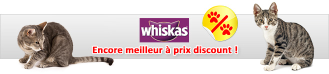 Aliments Whiskas pour chat