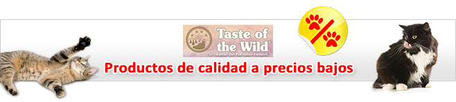 Taste of the Wild pienso para gatos
