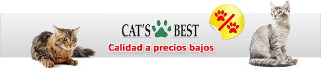 Cat's Best arena para gatos