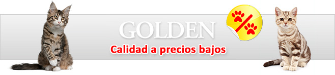 Golden Grey arena para gatos