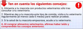 recomendaciones veterinarias