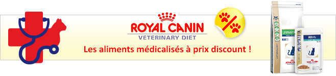 Nourriture Royal Canin Veterinary Diet pour chat