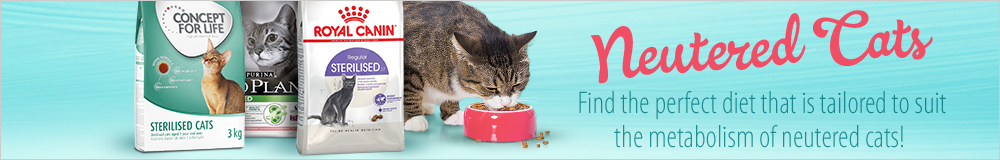 Neutered Cat Specialist Diets