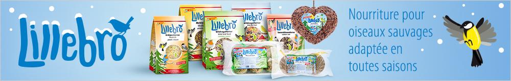 Lilebro Nourriture pour oiseaux sauvages